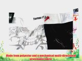 TurnerMAX MMA Shorts for MMA fighting Kick Boxing Training Grappling and Cage Fight White Black