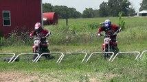 Pro Pit Bike Battle For First - Speeding At Midway Speedway - Pit Bike Junkie Magazine