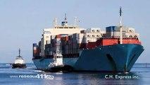 C.H. Express Flatbed Transport Canada USA Mexico