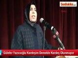 Muhsin Yazıcıoğlu' nun Eşi Gülefer Yazıcıoğlu Erdoğan'ın ve Hükumete