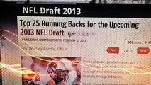 Bradley Randle Top 25 RB In NFL Draft  RB Minnesota Vikings
