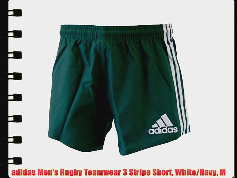 Whitenavy Adidas Rugby M Short Stripe Teamwear Men's 3 dshQrtC