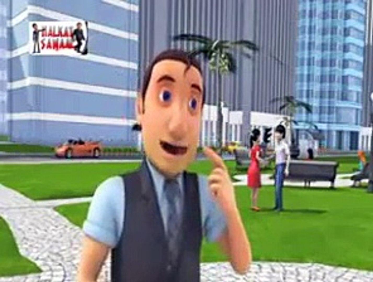 Very very very Funny video clip Halkat Sawal Funny Cartoon