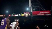 NBA 2K15 PS4 1080p HD Los Angeles Lakers-@Sacramento Kings Mejores jugadas