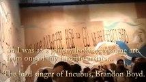 Brandon Boyd (incubus) Vocal Advice at Hurley, Costa Mesa
