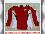 Wales Welsh Long Sleeve Ladies Rugby Shirt (18/20)