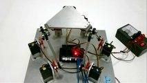 Arduino controlled 6DOF Stewart platform