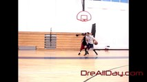 Dre Baldwin: 1-On-1 Game Clip #66 | 2 Dribbles Drill - Right Elbow, Dre on Defense | NBA Post Moves