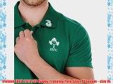 Ireland IRFU 2014/15 Rugby Training Polo Shirt Phantom - size XL