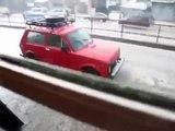 Snowing rain or raining snow, in AddisAbeba!