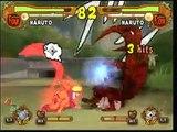 Naruto Ultimate Ninja 5 4tailed Naruto vs 1tailed Naruto