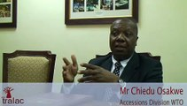 Chiedu Osakwe WTO special and differential treatment LDCs receive when acceding to the WTO