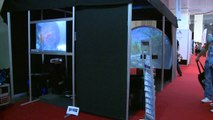 Immersive Display and Totally Visual @ the excite show  earls court 2009