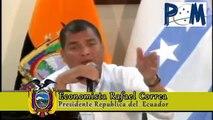 Rueda de prensa 10/06/2014 Presidente Rafael Correa con la Prensa Mercosur