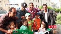 أجواء مباراة الجزائر و بلجيكيا في شوارع و مقاهي تونس العاصمة