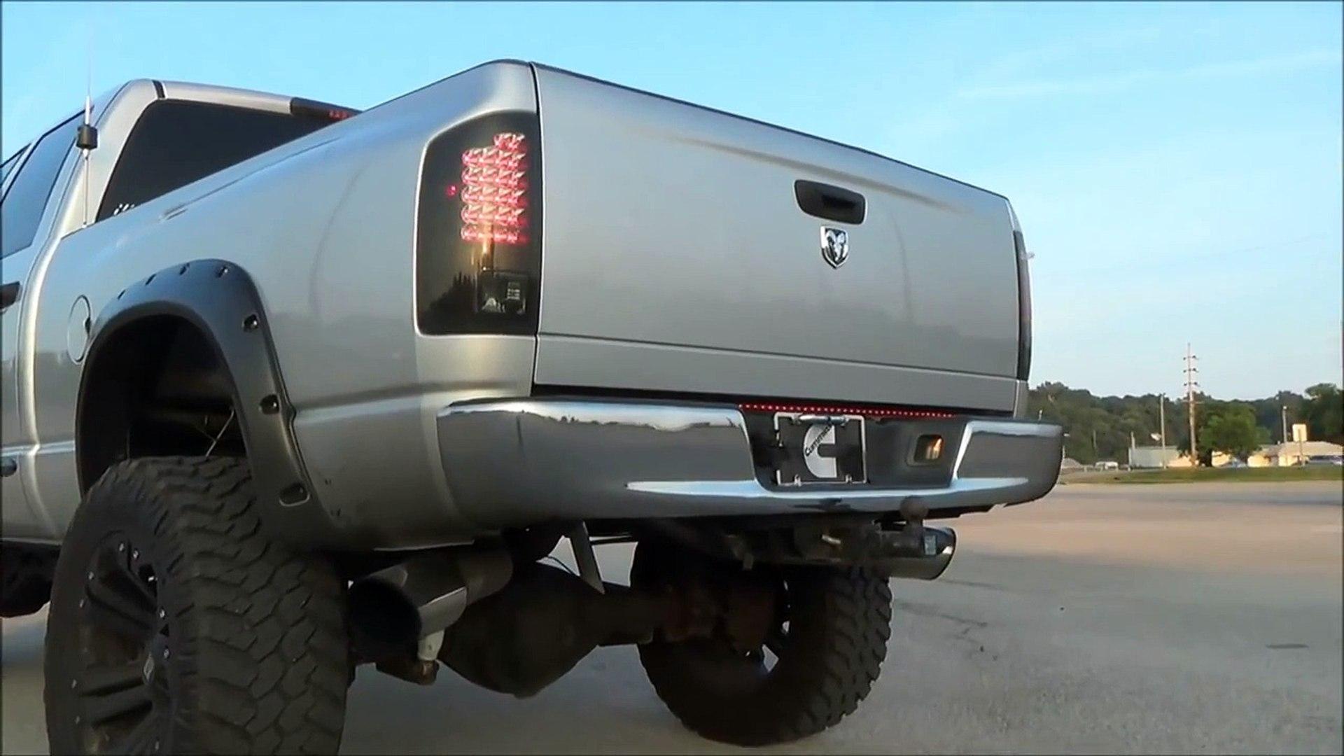Lifted Dodge Cummins Fun Video Dailymotion