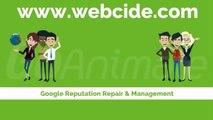 Personal Reputation Optimization on Google : Webcide.com Reputation Management Video Tutorial