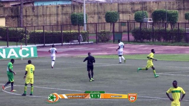 Résumé de match - Ligue2 - 20ème - Ivoire Académie vs Moossou FC - défaite 3-4, - le 23 juin 2015