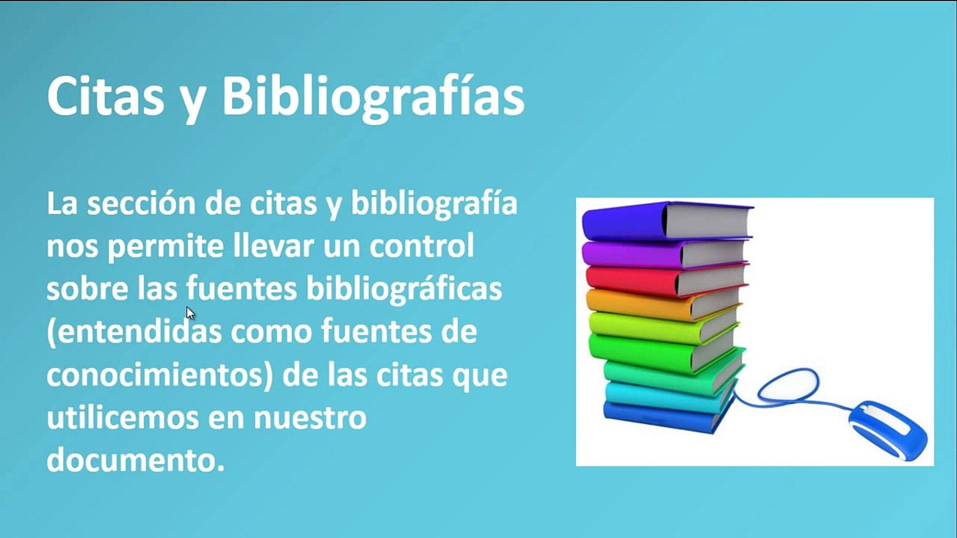 Citas y Bibliografías en Microsoft Word 2013 Microsoft word 2013 - 2010 - bibliografía en word 2013