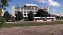 New Buses at Walt Disney World - Articulated Buses, New Buses, Old Buses