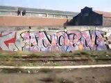 graffiti from paris RER window