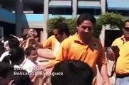 visita de jugadores de Jaguares a escuelas en chiapas 25mar10