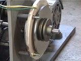 小型水力発電用コアレス発電機の開発090716core-less generator