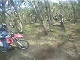 Elaine Trail Bike Ride 7/9/8. Helmet Camera Cam Dirt Motobike