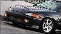 Honda crx d16 turbo vs civic d16 turbo