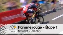 Flamme rouge / Last KM - Étape 1 (Utrecht > Utrecht) - Tour de France 2015