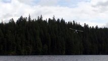 High Speed Turbine Otter Airplane Fly By