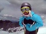 Skiing Trick Tip - Skiing the Steeps - Ingrid Backstrom