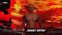 WWE RAW 12/07/2009: Kofi Kingston Vs Randy Orton