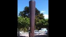 Sculptures monumentales à La Baule : 4 artistes. Musique : Pergolèse, Stabat mater