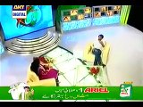 Made Shahid Afridi every one cry in a live show