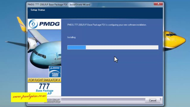 how to download and install pmdg 777 200 LRF