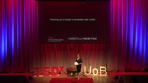 Reaching out to enemy communities after conflict: Christalla Yakinthou at TEDxUniversityofBirmingham