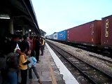 waiting  for  KTMB  train  Express  Senandung Langkawi  7 down  at  Alor  Star  28  March  2010