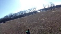 TESTING NEW GOPRO 3 WHITE ED. CAMERA WITH MY FALCONRY MERLIN