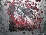 ZaD artiste peintre, tableaux abstrait en peinture acrylique