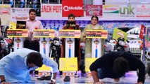 Fahad Mustafa and Humayun Saeed 50 push ups battle- Watch Who Wins
