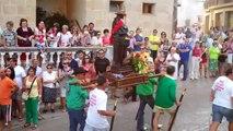 Roa de Duero Fiestas 2011 -- Subida San Roque y Peña Los Tempranillos