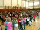 Výuka tanca počas hodín telesnej výchovy na ZŠ