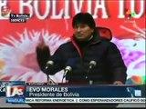 Tupac Katarí, primer satélite de Bolivia. Lanzamiento desde China con la presencia de Evo Morales