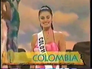 Catalina Acosta Miss Universe Colombia 2000 Top 10
