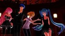 [MMD Halloween] Miku,Kaito,Gakupo,Len,Rin,Luka,Gumi,Neru,Teto,Haku - Bad ~ End ~ Night