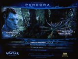 Mc Donald's Avatar Augmented Reality Pandora Experience powered by Total Immersion