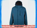 Mountain Warehouse Hockley Mens Snowproof Fleece Tricot Lined Hooded Snowboarding Skiing Ski