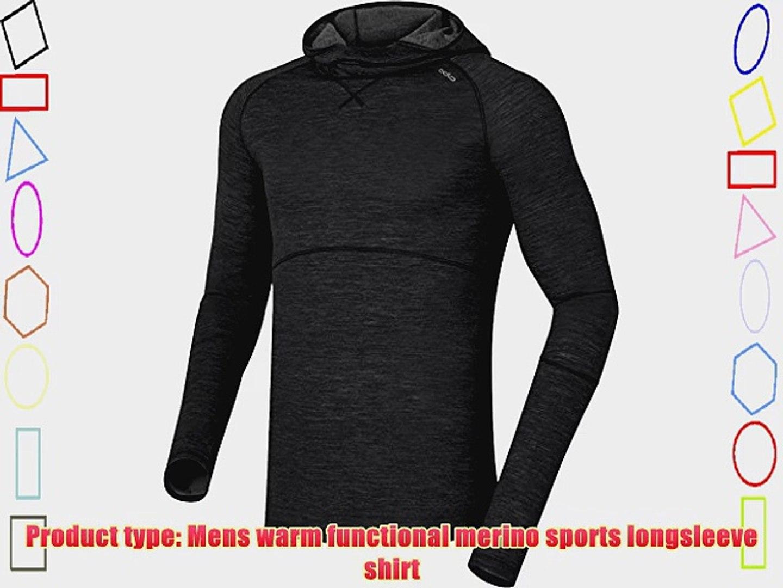 Odlo Shirt Long Sleeve Crew Neck Evolution X-Warm Top Interior t/érmico para Mujer
