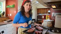 The Shamayim V'Aretz Institute: Stuff Kosher Meat-Eaters Say To Kosher Vegans with Mayim Bialik